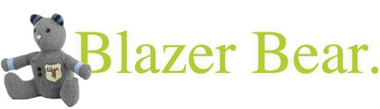 Handmade Bears in the UK from Blazer Bear