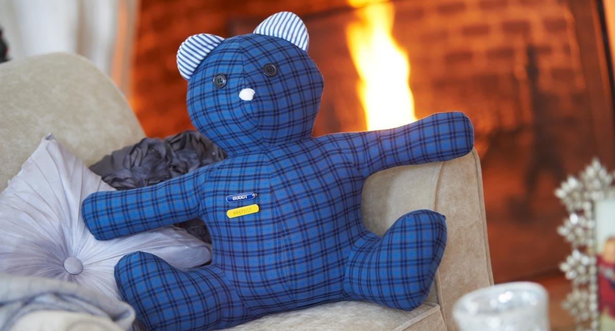 Handcrafted Blazer Bear